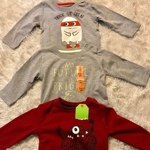 Other - 3 long sleeve shirts size 0-3 months